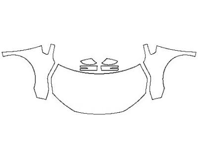 2020 HONDA ODYSSEY EX-L Full Hood Fenders Mirrors
