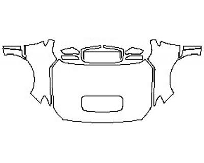 2020 SUBARU WRX BASE Full Hood Fenders Mirrors