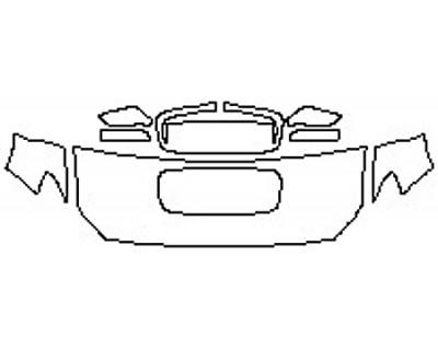 2020 SUBARU WRX BASE Hood(24 Inch) Fenders Mirrors