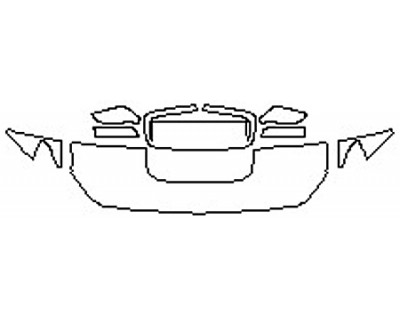2020 SUBARU WRX BASE Hood(18 Inch) Fenders Mirrors