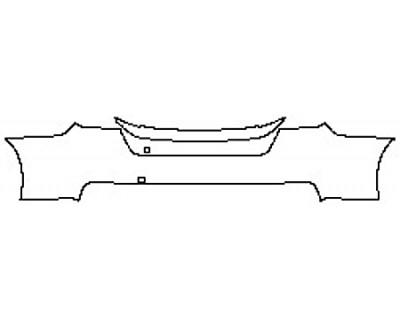 2020 SUBARU WRX BASE Full Rear Bumper