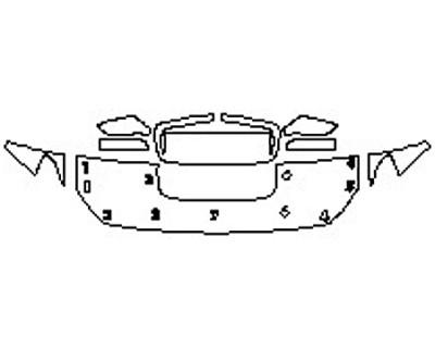 2020 SUBARU WRX PREMIUM Hood(18 Inch) Fenders Mirrors