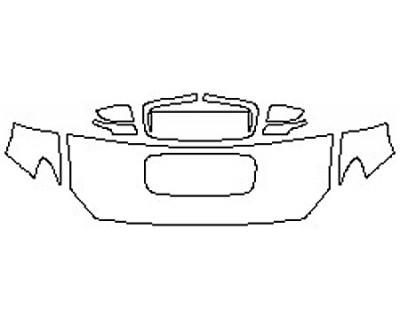 2020 SUBARU WRX STI BASE Hood(24 Inch) Fenders Mirrors