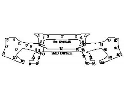 2020 SUBARU WRX STI BASE Bumper