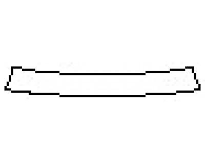 2018 AUDI A5 SPORTBACK S-LINE Rear Bumper Deck