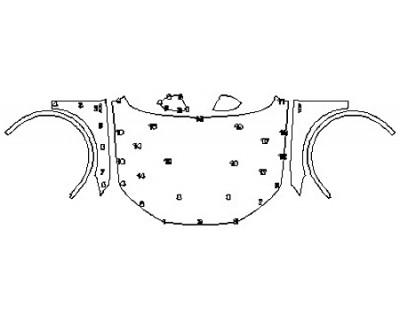 2018 AUDI SQ5 Full Hood Fenders Mirrors