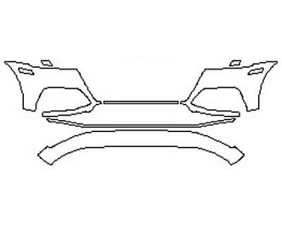2018 AUDI SQ5 Bumper