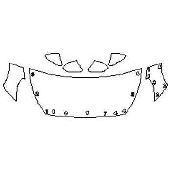 2019 HYUNDAI SONATA LIMITED 2.0T Hood(30 Inch) Fenders Mirrors