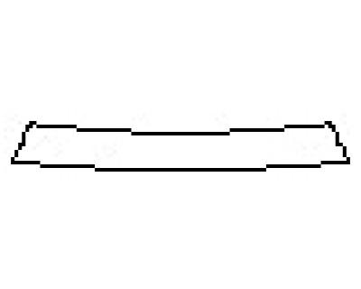 2018 HYUNDAI SONATA LIMITED 2.0T Rear Bumper Deck