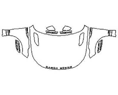 2018 LAND ROVER RANGE ROVER VELAR R-DYNAMIC Full Hood Fenders Mirrors