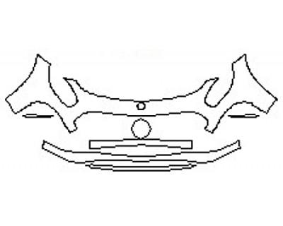 2018 MERCEDES AMG GT COUPE Bumper