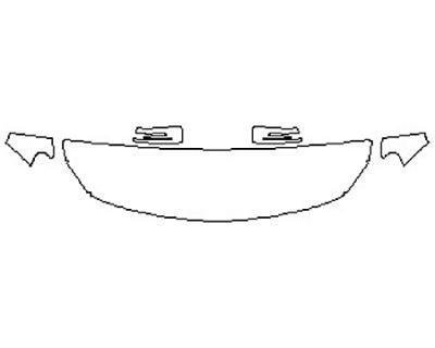 2018 MERCEDES GLA-CLASS SUV GLA250 BASE Hood(18 Inch Wrapped Edges) Fenders Mirrors