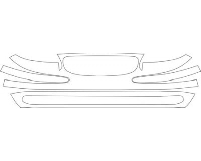 2001 BUICK REGAL  GRILLE AND BUMPER KIT