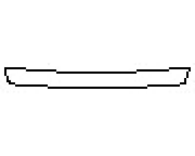 2018 TOYOTA CAMRY HYBRID XLE Rear Bumper Deck