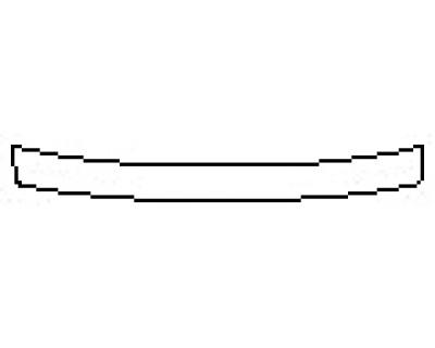 2020 VOLKSWAGEN TIGUAN 2.0T S Rear Bumper Deck