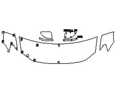2020 VOLKSWAGEN TIGUAN 2.0T SEL PREMIUM Hood(24 Inch) Fenders Mirrors