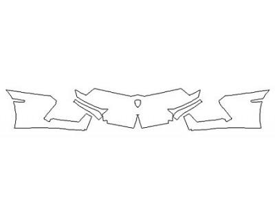 2017 LAMBORGHINI AVENTADOR LP700-4 COUPE Bumper