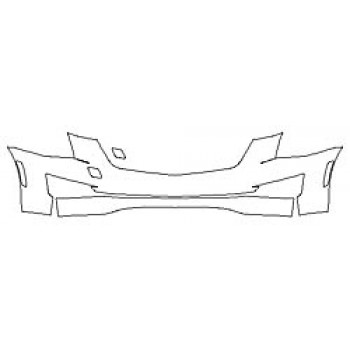 2020 CADILLAC ATS COUPE LUXURY Bumper (2 Piece)