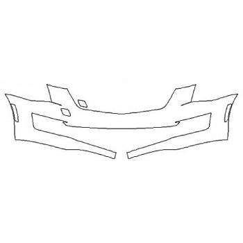 2020 CADILLAC ATS COUPE LUXURY Bumper (1 Piece)