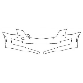 2020 CADILLAC ATS COUPE LUXURY Bumper With Sensors (1 Piece)
