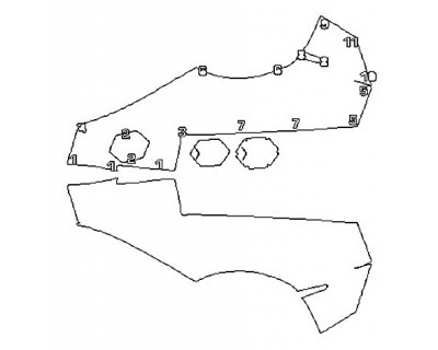 2017 LAMBORGHINI AVENTADOR LP750-4 SV ROADSTER Full Rear Quarters