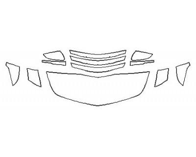 2018 CADILLAC CTS-V SEDAN Hood(18 Inch) Fenders Mirrors