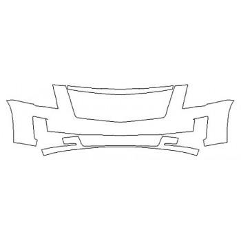 2020 CADILLAC ESCALADE BASE Bumper