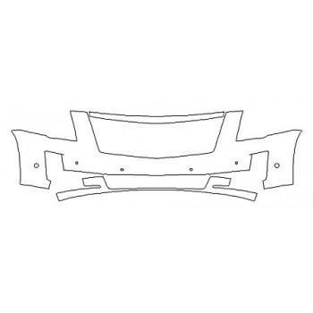 2020 CADILLAC ESCALADE BASE Bumper With Sensors