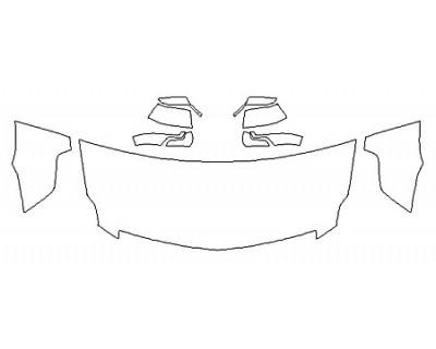 2018 CADILLAC ESCALADE ESV PLATINUM Hood (30 Inch) Fenders Mirrors