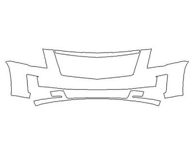 2018 CADILLAC ESCALADE ESV PLATINUM Bumper