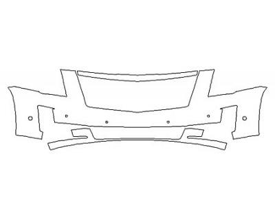 2018 CADILLAC ESCALADE ESV PLATINUM Bumper With Sensors