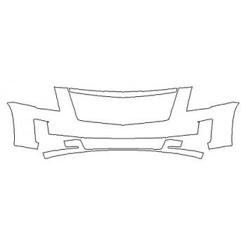 2019 CADILLAC ESCALADE ESV PREMIUM LUXURY Bumper