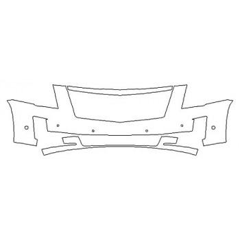 2019 CADILLAC ESCALADE ESV PREMIUM LUXURY Bumper With Sensors