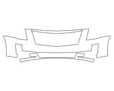 2019 CADILLAC ESCALADE PLATINUM Bumper