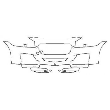 2020 JAGUAR XF BASE Bumper (8 Piece)