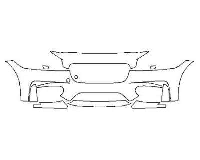 2018 JAGUAR XF S Bumper (7 Piece)