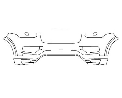 2018 VOLVO XC90 T5 AWD Bumper