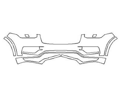 2018 VOLVO XC90 T5 AWD R-DESIGN Bumper