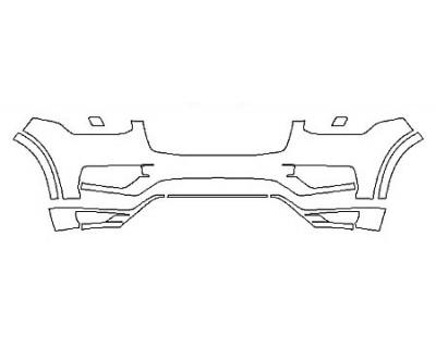 2018 VOLVO XC90 T5 FWD Bumper