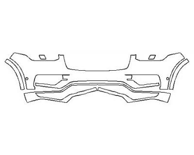 2018 VOLVO XC90 T5 FWD R-DESIGN Bumper With Sensors
