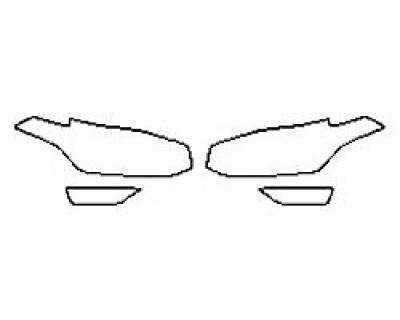 2018 VOLVO XC90 T5 FWD R-DESIGN Headlights Fog lights