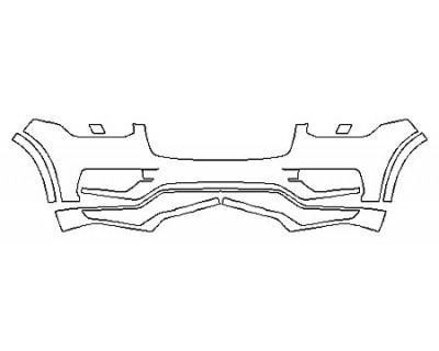 2018 VOLVO XC90 T6 AWD R-DESIGN Bumper