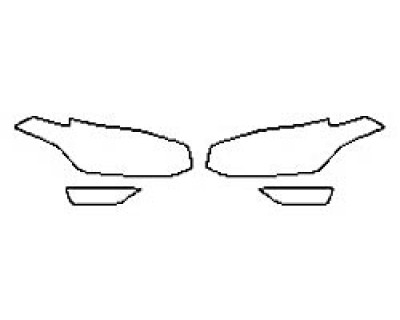 2018 VOLVO XC90 T8 R-DESIGN Headlights Fog lights