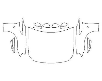 2020 TOYOTA 86 Full Hood(Wrapped Edges) Fenders Mirrors
