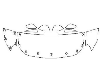 2020 TOYOTA 86 Hood (24 Inch) Fenders Mirrors