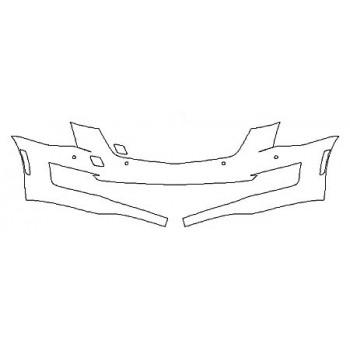 2020 CADILLAC ATS SEDAN PREMIUM LUXURY Bumper With Sensors (1 Piece)