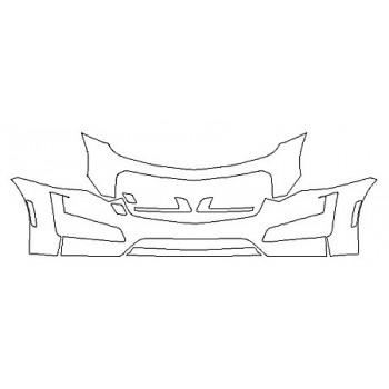 2019 CADILLAC CTS SEDAN V-SPORT Bumper (24 Inch)