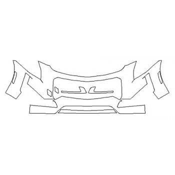 2019 CADILLAC CTS SEDAN V-SPORT Bumper (30 Inch)