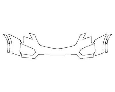 2020 CADILLAC XT5 PREMIUM LUXURY Bumper
