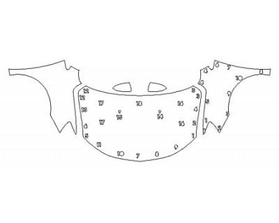 2020 CHEVROLET SONIC HATCHBACK PREMIER Full Hood Fenders Mirrors